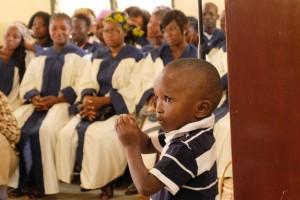 Kind und Chor